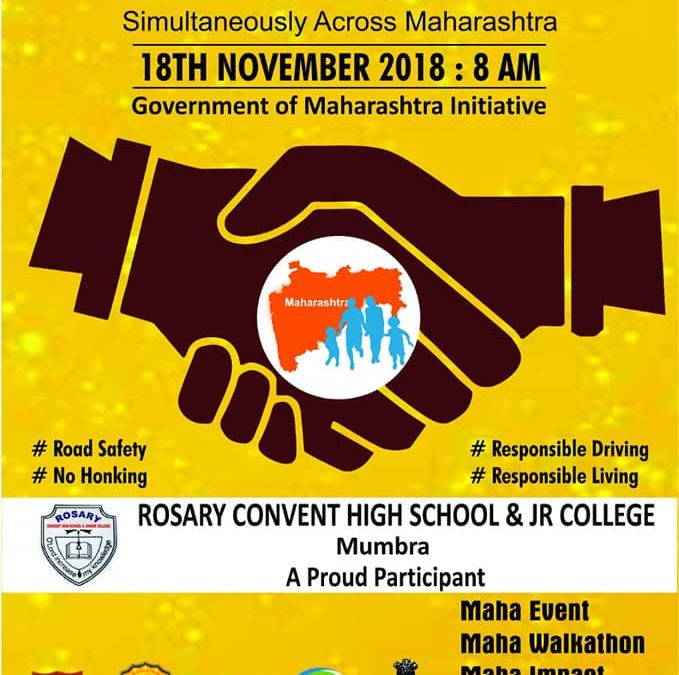 Maha Walkathon On Sunday 18/11/2018 at 8:00 am